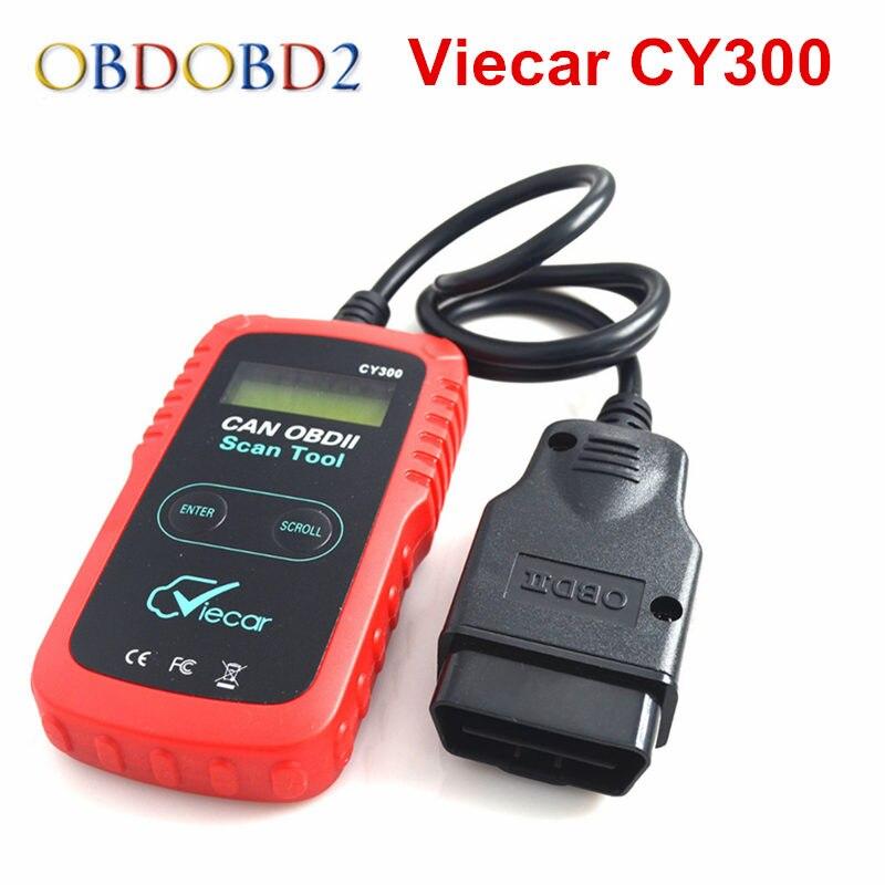 VIECAR CY300 ELM327 OBD2 Scanner VC300 OBD2 Diagnoseschnittstelle Unterstützung SAE J1850 Protokoll CY-300 OBDII