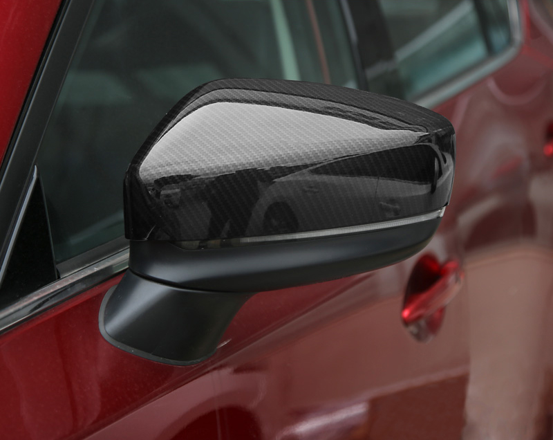 KOUVI ABS Chrome Side Rearview Mirror Cover Sticker Molding Garnish Accessories For 2017 2018 Mazda CX-5 CX5 CX 5 Car styling