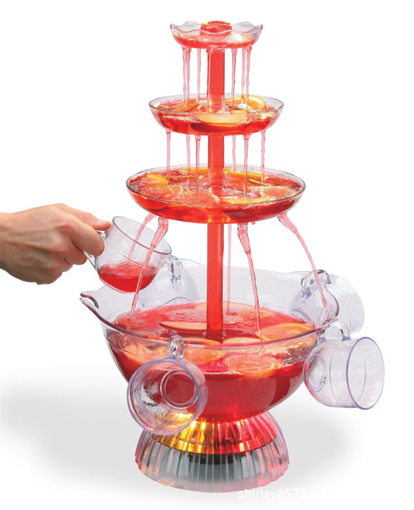 Red Wine Juice Drinks Fountain Machine Points Birthday Party Bar Entertainment Water Dispenser Beer In Diy Decorations From Home Garden