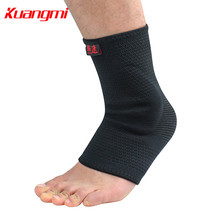 KuangMi Sports High Elastic Ankle Brace Support Band Basketball Football Tennis Feet Protectors km3379
