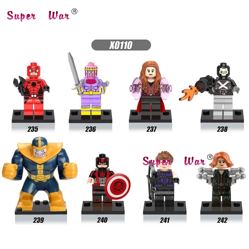 80pcs starwars superhero Thanos Ant-Man building blocks action bricks friends for girl boy house games kids children toys