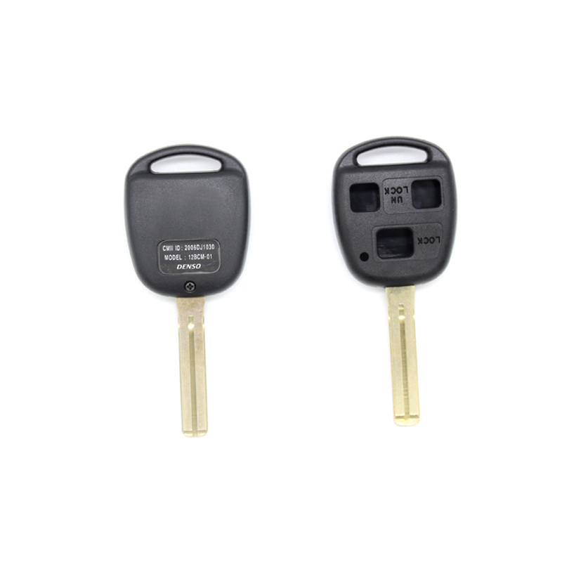 Dewtreetali Hot Sale 3 Buttons Remote Fob Case Replacement Car Key Shell Fob For <font><b>Lexus</b></font> <font><b>RX300</b></font> ES300 image