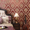 3D Stereoscopic Relief Background Wall Decorative Wall Paper Rolls High Quality Thickening Damask Wallpaper Living Room