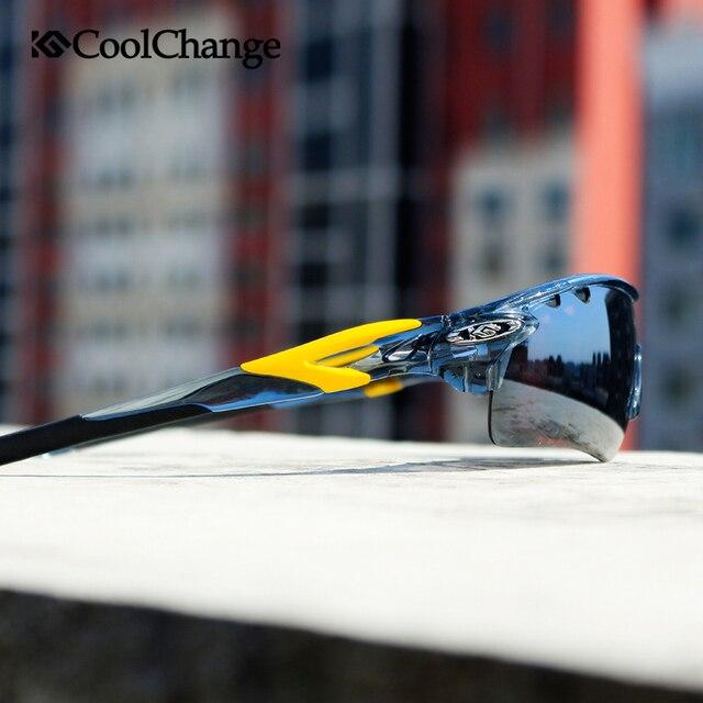 CoolChange Polarized Cycling Glasses