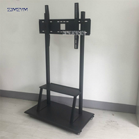 Universal 150KG TV Wall Mount Bracket Fixed Flat Panel TV Frame for 50 80 Inch LCD LED Monitor Flat Panel cold rolled steel