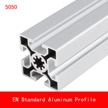 length 500mm 5050 Aluminium Profile EN Standard Brackets DIY Bracket Table Holder AL Aluminum Shape CNC 3D Printer Parts