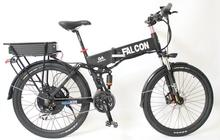 Electric Bicycle 48V 1000W Motor 48V 20Ah Li-ion Battery Flat Alumnium Case Ebike Double-Layer Rear Rack + LCD Display