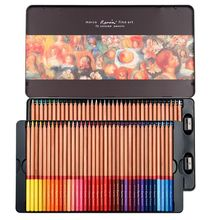 Oily Color Pencils Set 24/36/48/72 Professional Sketch Pencil Lapices De Colores for Coloured Drawing Pencil Set Art Supplies faber castell oily colored pencil 24 36 48 72 100colors professional painting set color pencils for drawing sketch art supplies