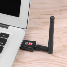 Wireless Wifi Adapter With 2dB Antenna USB Wifi Receiver Lan Network Card For PC Computer Desktop