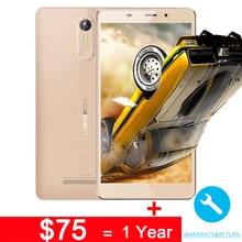 LEAGOO M8 Smartphone 5.7 pouce MT6580A Quad Core 1.3 Ghz 2 GB RAM + 16 GB ROM 3500 mAh D'empreintes Digitales ID 1280*720 HD 13.0MP Caméra