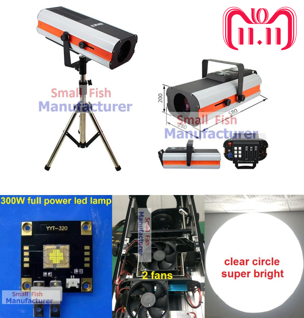2016 New 300W Led Follow Spot Light Replace 2500W Following Light Color Gobo IRIS Wedding Decoration Performance Stage Lighting litewinsune 330w led spot follow lighting performance stage lighting