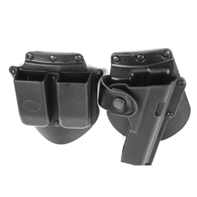 Gun Holster with double magazine