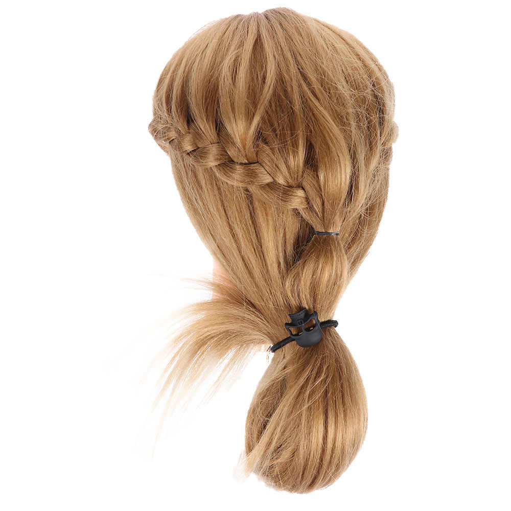 3 צבעים 1Pc רטרו מתכת פאנק גותי שיער להקות גולגולת שיער קליפ תכשיטי ליל כל הקדושים חג המולד מתנה