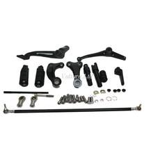Czarny Kontroluje Kompletny Zestaw Do Przodu Kołki Powiązań Dźwignie Harley Sportster 883 1200 XL 04-13