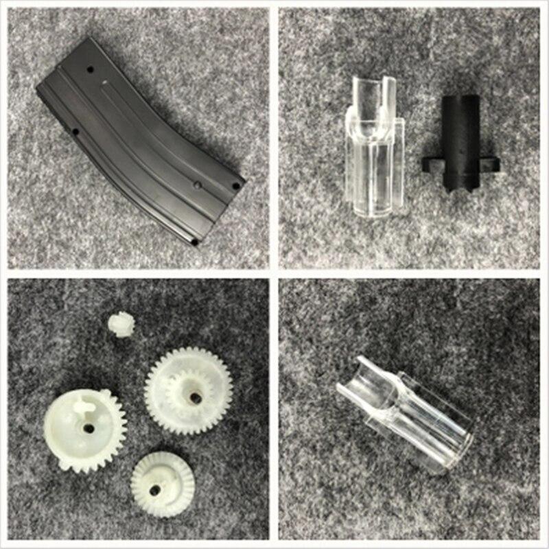ZhenDuo Toys Original Magazine Gears T-piece tee Accessories for NWELL M4 Gel Ball Blaster Toy