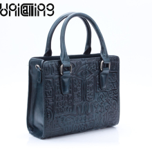 UniCalling vintage fashion leather women handbag classy genuine bag brand quality female shoulder