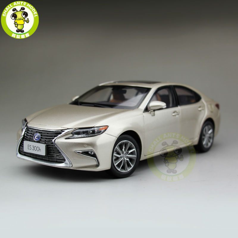 1/18 Toyota Lexus ES 300 ES300H Diecast Model Car Suv hobby collection Gifts Gold white 1 18 scale lexus rx200t rx 200t suv luxury collection diecast model car aluminum