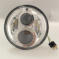 Emarked Daymaker Round 7 inch LED Headlights For Jk Wrangler Off Road TJ Harley Touring With Position Light / Parking Light