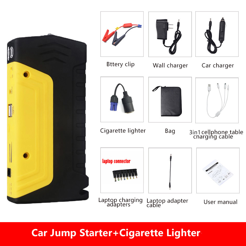 Starthilfe GroßZüGig Minifish Beste Verkauf Produkte 68000 Mah 600a Batterie Ladegerät Tragbare Mini Auto Starthilfe Booster Power Bank Für Eine 12 V Auto Kfz-elektronik