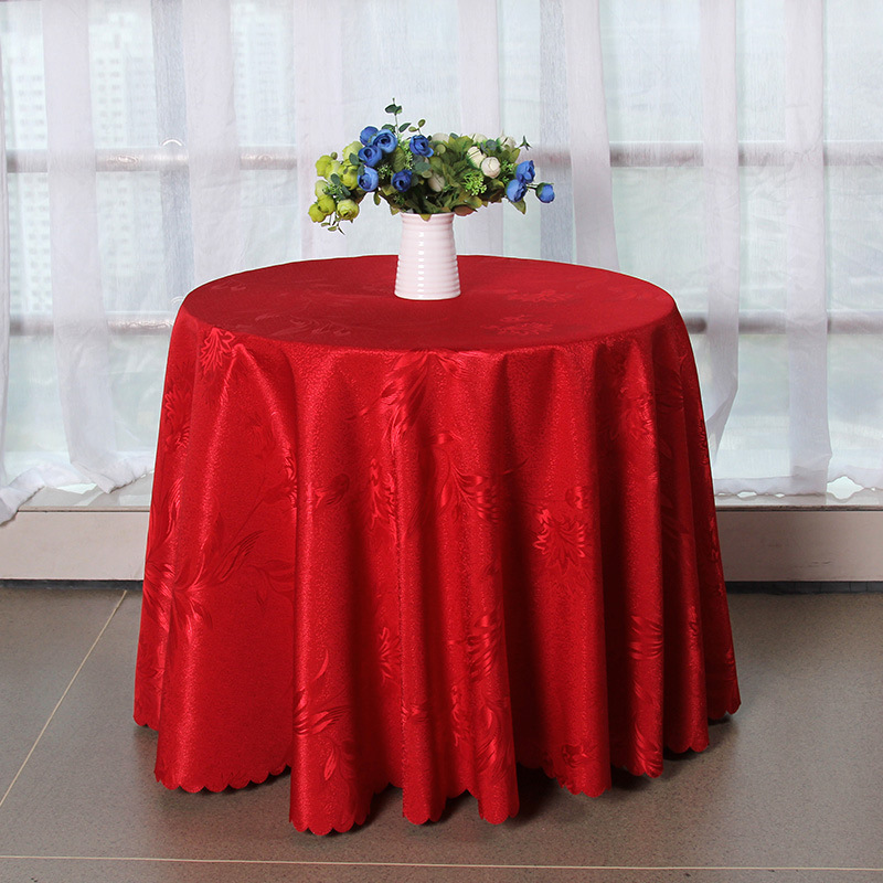 Online get cheap outdoor round tablecloth for Inexpensive round tables