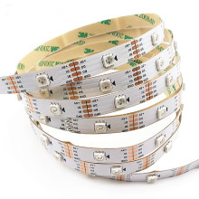 5m/roll WS2813 Smart led pixel strip,Black/White PCB,30/60 leds/m WS2813 IC;better than WS2812B strip,IP30/IP67 DC5V
