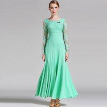 5a1d8de0 Vestidos de baile latino faldas de mujer presentes vestidos de vals de baile  Vintage faldas profesionales para mujer vestidos B-.