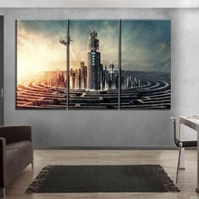 3 Panel Wall Art Home Decor Modular Poster High Quality Canvas Print Movie Maze Runner The Death Cure Painting Modern Artwork