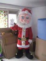 Талисман рождественский дед мороз обычай необычные костюмы праздник косплей комплекты mascotte необычные платья