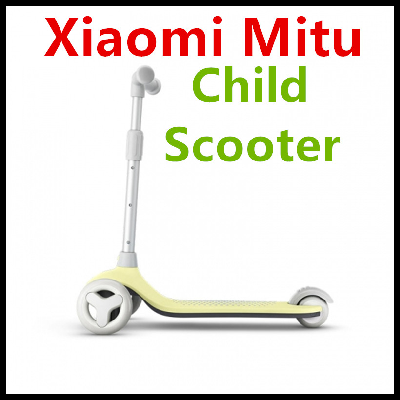 2018 New Xiaomi Mitu Child Scooter For 3-6 Years Old Child Multi Protection Max 50KG Bearing For Smart Child free shipping scooter children 2 15 years old max load 60kg