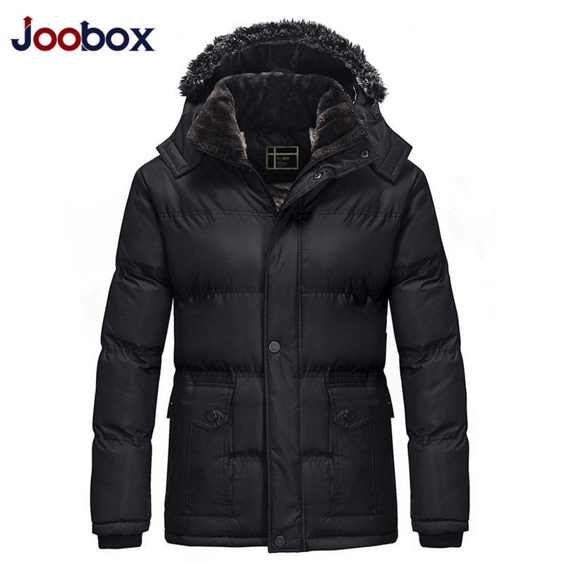 JOOBOX 2017 New arrival Brand jacket men Winter  jackets and coats waterproof thick Clothing Hooded warm Parka Plus size 3XL