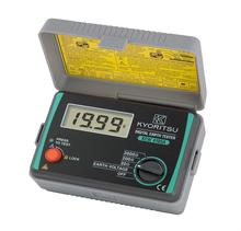 KYORITSU 4105A Digital Earth Tester Resistance Meter With a Suitcase 4105AH