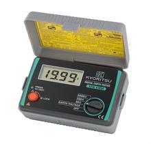 Mètre numérique de résistance dappareil de contrôle de terre de KYORITSU 4105A avec une valise 4105AH