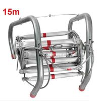 15M Fire Rescue Ladder High quality Fire Rescue Equipment Folding Soft Ladder Escape Rope Ladder to Safety Self help Hot Selling