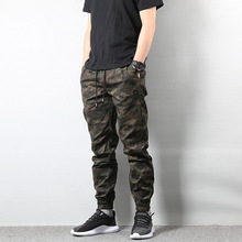 YWSRLM Autumn Jogger Camo Camouflage Cargo Pants Men Military Army Homme Hip Hop US