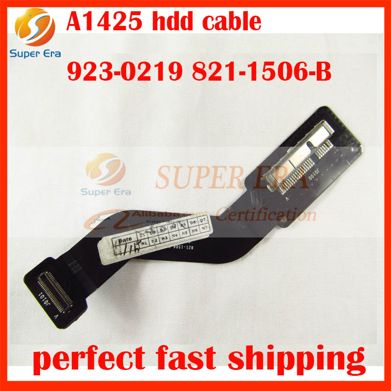 original 923-0219 821-1506-B for Apple Macbook Pro 13 Retina A1425 HDD HARD DRIVE FLEX CABLE MD212 ME662 Late 2012 Early 2013