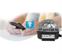 Bluetooth Magic Ball Light KTV Laser Light 9 Colors 27W Crystal Magic Ball Led Stage Lamp