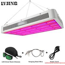 LVJING Led Grow Light 300/400/500/600/800/1000/1200/1600W full Spectrumสำหรับเรือนกระจกในร่มGrowพืชเต็นท์เติบโตLed Light