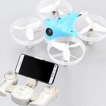 Nova MINÚSCULO WI-FI FPV rc drone CX-95W CX95W 2.4G Wi-fi EM tempo REAL rc helicóptero Com Câmera 0.3MP luz led Corrida drone RTF melhor presente