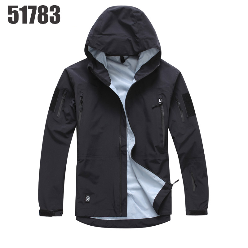 51783 2016 New TAD Gear Tactical Soft Shell Camouflage Outdoor Jacket Men Army Sport Waterproof Hunting