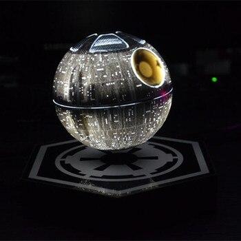 Boule haut parleur magnétique flottant léviter fond mort star haut-parleur avec led lumière pour le cadeau