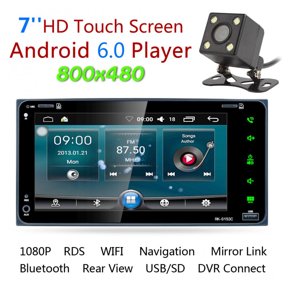 7 39 39 rds android 6 0 bluetooth car radio stereo player. Black Bedroom Furniture Sets. Home Design Ideas