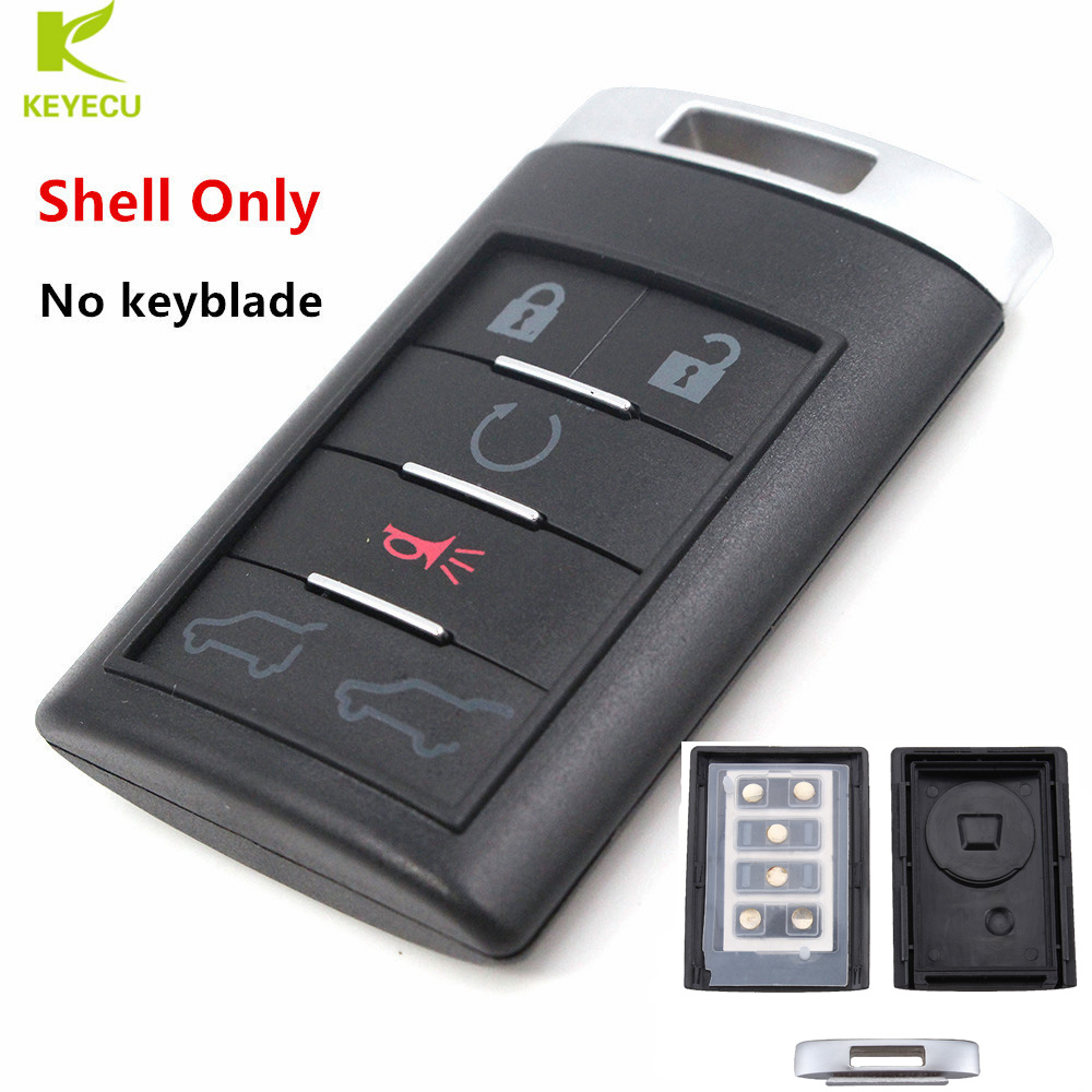 KEYECU Replacement Remote Key Fob 6 Buttons Shell Case Fob
