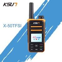 KSUN WCDMA Country Distance from the Walkie Talkie Optional GPS Positioning Civilian 50 km Dual Mode Network Digital Car Radio