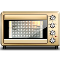 DMWD 38L 2000W Electric Pizza Oven Bread Machine Reposteria Cookies Cake Maker Meat Chicken Roaster 6 Heating Tube 220V