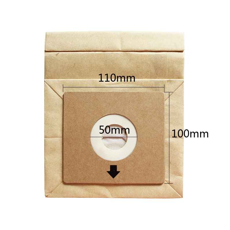 1PC Replacement Dust Cleaner Bag For 10 X 11cm Vacuum Cleaner Dust Collecting Paper Bags Vacuum Cleaner Spare Parts Accessories