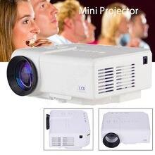 Livraison gratuite! Q3 Mini Projecteur LED 1080 p Portable Home Cinéma TV Pour Set Top Box Ordinateur Caméra