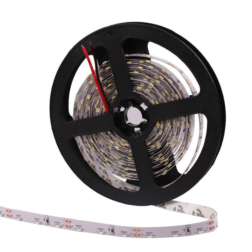 Luce di striscia del led 335 smd side emitting 300led 5 m dc 12 v impermeabile ip65 3000 k 6500 k bianco caldo rosso verde blu nastro flessibile corda