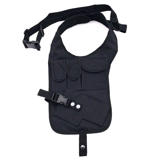 Universal Pistol Drop Leg Holster Bag Tactical Military Hunting Shoulder Armpit Phone Pouch Anti