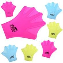 Gants de natation en silicone pour adultes, 1 paire, pour palmes de natation, équipement de plongée, Fins de surf