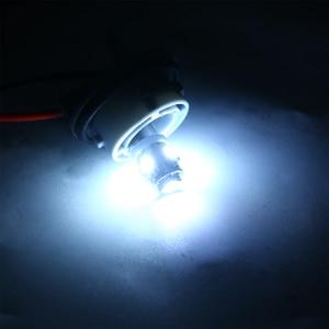 Image 5 - For Car Lighting 10PCS/Lot T11 BA9S 5050 5 SMD LED White Light Bulb Car light Source Car 12V Lamp T4W 3886X H6W 363 Mayitr